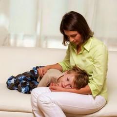 Ребенок рвота температура