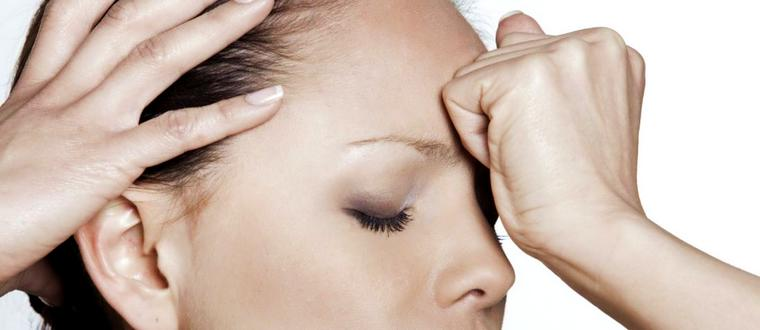 Легкое головокружение и давит на глаза